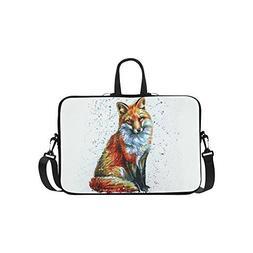 754f3e9282f0 InterestPrint Animal Fox Laptop Sleeve C...