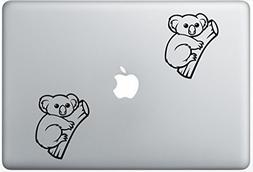 Animals Australia Koala Cute ArcDecals78601445 Set Of Two  ,