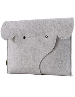FHQSX 13-13.3 Inch Apple Dell Case, Handmade Cute Elephant L