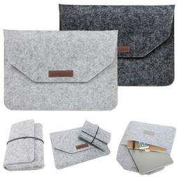 For Apple Mac Air MacBook Pro 11/12/13/15 Laptop Wool Felt S