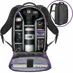 Large Camera Backpack Bag for Canon Nikon Sony DSLR & Mirror