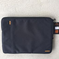 "TOMTOC BLACK 15"" LAPTOP SLEEVE CASE"