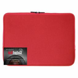 Black 17 17.3 inch Neoprene Laptop Sleeve Bag Carrying Case