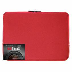 Black 17 17.3 inch Neoprene Laptop Sleeve Bag Carrying Case