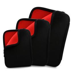 "Black Soft NEOPRENE Sleeve Case Cover Pouch Bag for 11"" 13"""