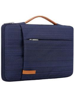 """Lacdo Blue 360° Protective Laptop Case Bag Fits 15-15.6"""" La"""