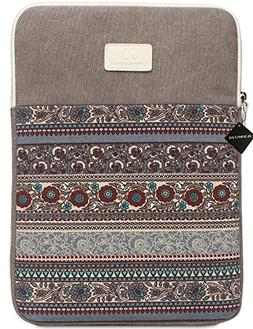 BLOOMSTAR 15 Inch Bohemian Canvas Protective Laptop Sleeve B