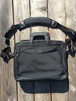 Dell Brand Black Computer Case Laptop Tablets Shoulder Messe