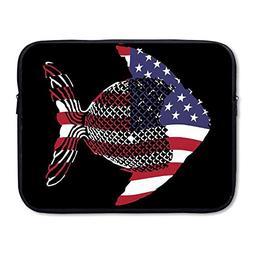 CHJOO Briefcase Laptop Messenger Bag Fashion Fishing Rican F