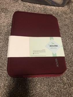 Arvok Burgandy Laptop Case
