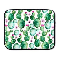 Summer Moon Fire Business Briefcase Sleeve Opuntia Cactus Fl