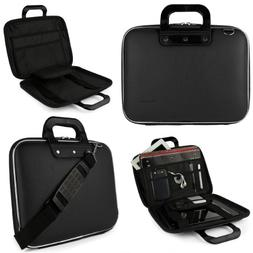 Black SumacLife Cady Briefcase Bag for HP 15 Series 15.6-inc