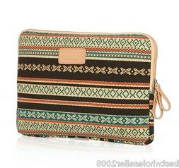 kayond canvas bohemia Laptop Notebook Macbook Pro Air Sleeve