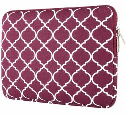 MOSISO Canvas Fabric Laptop Sleeve Case Bag Cover Compatible