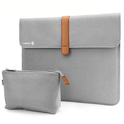 Tomtoc Canvas Laptop Sleeve for 13 - 13.3 Inch MacBook Air |