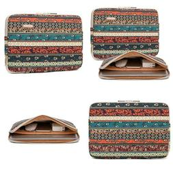 Kayond Canvas Water-Resistant 13.3 Inch Laptop Sleeve Case F