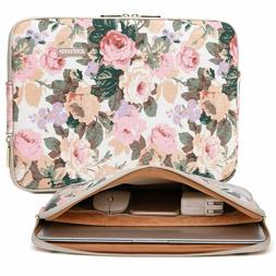 Canvas Water-Resistant 14 Inch Laptop Sleeve case for 14.1in