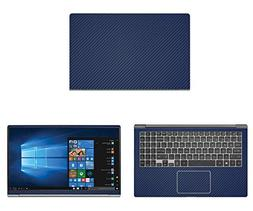 decalrus - Protective decal LG gram 15Z980  Laptop BLUE Carb