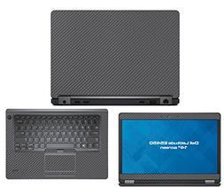 Decalrus - Dell Latitude E5450  laptop GREY Carbon Fiber ski