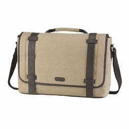 Targus City Fusion Canvas Messenger Laptop Bag/Case Fits 15.