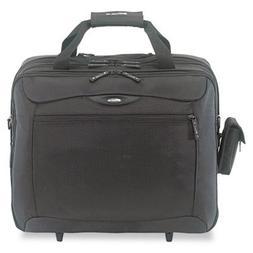 CityGear Rolling Travel Laptop Case, Nylon, 18 x 10 x 15, Bl