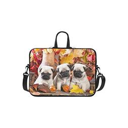 InterestPrint Classic Personalized Cute Pet Pug Puppy Dog Ma