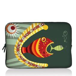 """Colorful Fish 14"""" 14.4"""" inch Notebook Laptop Case Sleeve Car"""