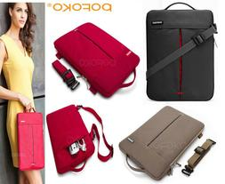 Convertible Tablet Laptop Sleeve Carry Case Shoulder Bag For