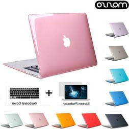 Rubberized Coated Shell Cover Case for Macbook Pro 13 15 Tou