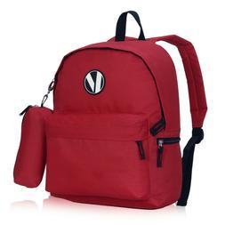 Cute Kids Medium Printed School Laptop Backpack w/ Pencil Ca