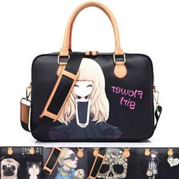 Cute Women's Laptop Messenger Sling Case Handbag 13 14 15 in