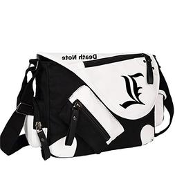 Siawasey Death Note Anime L Cosplay Handbag Backpack Messeng
