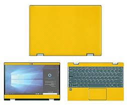 decalrus Protective decal for Lenovo Yoga 720-12  Laptop Yel