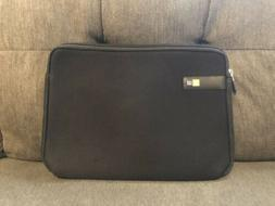 Case Logic Display laptop Sleeve LAPS-113, 13.3-Inch, Black