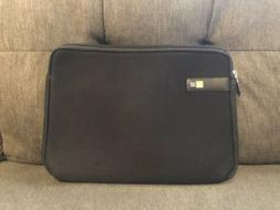 Case Logic Display laptop Sleeve LAPS-113, 13.3-Inch, Black