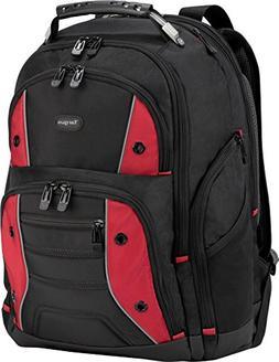 Targus Drifter II Backpack for 17-Inch Laptop, Black/Red