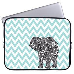 Elonbo 13-Inch Fashion Cute Cartoon Elephant Neoprene Laptop
