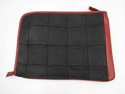 Elvis & Kresse Fire & Hide Folio Laptop Case Leather Black 1