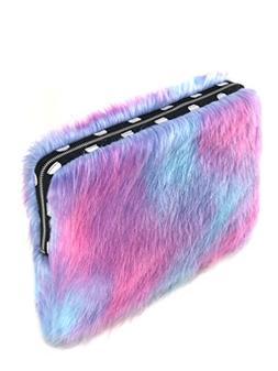 Faux Fur Laptop Sleeve )