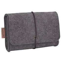 ProCase Felt Storage Case Bag Accessories Organizer for MacB