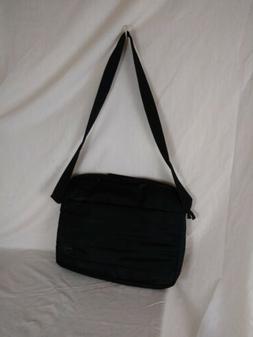 Genuine DELL Laptop Brief Case Messenger Bag BLACK Nylon 17x