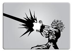 Goku Kamehameha Apple Macbook Decal Vinyl Sticker Apple Mac