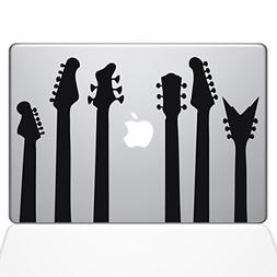"The Decal Guru Guitar Band Decal Vinyl Sticker, 15"" MacBook"