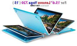 """mCover Hard Shell Case for 15.6"""" Lenovo Yoga 720  Laptop"""