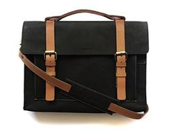Chalk Factory Heavy Leather Messenger Bag Custom Made for HP