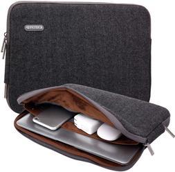KAYOND Herringbone Woollen Water-Resistant for 15-15.6 Inch