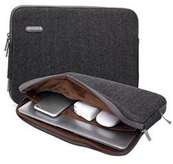 KAYOND Herringbone Woollen Water-Resistant for 17 Inch Lapto