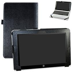 HP Pavilion x2 10 / HP x2 210 G1 Case,Mama Mouth PU Leather