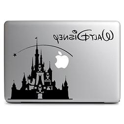 HVD-Disney Castle Decal Sticker Skin for Apple Macbook Air &