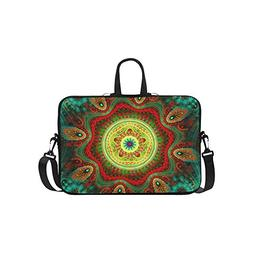 indian bohemian floral laptop sleeve